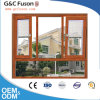 China Aluminum Tilt and Turn Window with Blinds