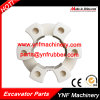 Excavator Rubber Coupling 25h Shaft Coupling Assembly