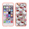 3in1 Printed Kt Phone Case TPU+PC with Finger Ring Holder