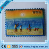 Beautiful Scenery Plate Resin Plate People in Seaside