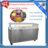 Refrigerated display showcase for garnish and topping