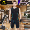 Men′s Sportswear Compression Tight Suit Gym Cloth Set