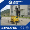 Air Cooled Single Cylinder 5kw Diesel Generator LED Lighting Tower