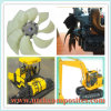 Sickle Blade Cooling Fan for Engineering Machinery