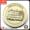 Customized Gold Plating 3D Building Coin