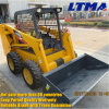 Earth-Moving Machine 0.7 Ton Mini Skid Steer Loader for Sale