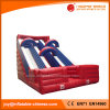 Amusement Toys Inflatable Dual Lanes Dry Slide for Sale (T4-131)
