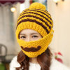 Fashion Mask Beard Handmade Knitting Hand Knitted Crocheted Moustache Hat