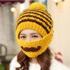 Fashion Mask Beard Handmade Knitting Hand Knitted Crocheted Moustache Hat