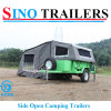 Soft Floor Side Open off Road Travel Trailers