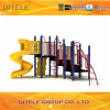 Colorful Children Outdoor Playground Equipment with Slide for Schools