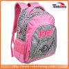 High Quality Durable Flower Embosss School Backpack School Bags
