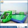 2016 Crazy Interesting Inflatable Soap Soccer Field for Sale