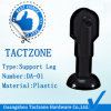 Plastic Black Toilet Partition Adjustable Support Legs