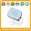 Rectangular Mint Tin Box, Metal Candy Can, Gum Tin Can