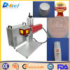 Portable CNC Fiber Laser Marking Machine for Leather Cosmetic Packaging