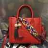 New Design Ladies Handbag Colorful Strap Shoulder Bags Wholesale Price Emg4598