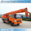 China Advanced Design Used Hydraulic Boom Pickup Truck Loader Cranes with Spare Parts