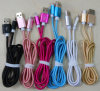 Nylon Micro USB Cable for Samsung Huawei Android 2m 1m