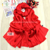 2017 High Quality Plain Silk Satin Shawl All-Match Fashion Scarf