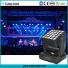 25pcsx15W RGBW 5X5 Matrix LED Moving Head Beam Wash Light