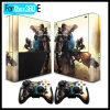 Sticker Skin Decals for xBox 360 E Console and 2 Controllers