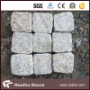 Hot Sale Rusty Yellow G682 Granite Cube Stone/Cobble Stone for Paving