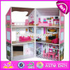 Best Luxurious and Attractive Six Rooms Wooden Doll House Play for Kids W06A245