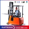 with CE High Quality Four-Wheel Electric Reach Forklift