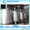 Food Grade Stainless Steel Steam Heating Mixing Tank