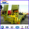 30t-80t Gooseneck Detachable Front Loading Removable Low Bed Semi Trailer