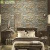 Best Selling Interior 3D Stone PVC Vinyl Wallpaper for Office / Hotel