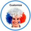 2018 Fifa World Cup Football Russia Fans Wig