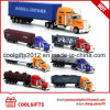 New Fashion Free Wheel Container Diecast Truck Toy Metal Model