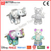 Painting Plush Stuffed Animal Soft Elephant Toy for Kids Drawing