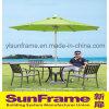 Luxury Brushed Aluminium Umbrella for Outdoor