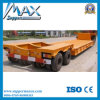 2 Lines 4 Axles Flatbed Lowbed Semitrailer