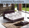 C022 Geniune Leather American Style Bed