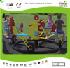 Kaiqi Cute and Colourful Animal Bike Merry-Go-Around for 4 Children (KQ50157B)