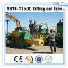 Y81f-3150 Hydraulic Scrap Metal Baling Press Machine