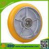 Crown Type Cast Iron PU Caster Wheel