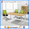 Appealing Melamine Office Table with Aluminium Frame