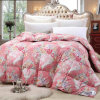 Flower Printing Down Quilt Percale Cotton Llightweight Quilts