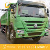 Good Price 8X4 12tyres Used HOWO Dump Truck in Good Working Condition 375HP