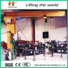 360 Degree 3 Ton Swing Level Jib Crane with Drawing