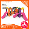 Full Plastic Indoor Combining Slide Functional Climbing Playground