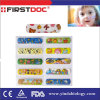 Color Pinted Cartoon Adhesive Bandage, Band Aid, Plasters