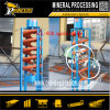 Small Laboratory Ore Sampling Analysis Testing Machinery Mineral Spiral Separator