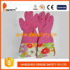 Ddsafety 2017 Long Cuff Hosehold Latex Gloves Flower Design
