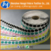 Colored Die Cut Adhesive Velcro Magic Tape Coins